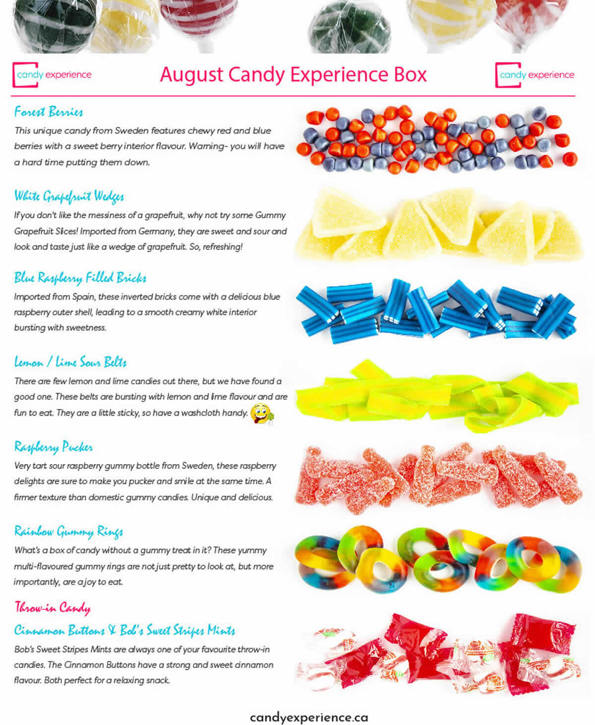 August Candy Subscription Box